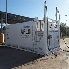 How do you clean diesel storage tanks?